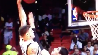 Tyler Johnson Almost Destroys Enes Kanter's Entire Existence With This Missed Dunk