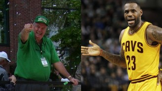 Hear Tommy Heinsohn Spend An Entire Game Complaining About That 'Crybaby' LeBron James