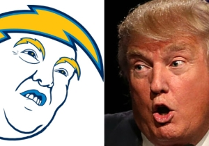 Let's Redesign Every NFL Logo As Donald Trump And Make The League Great Again