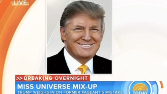 Donald Trump Explains How He Would Have Handled The 'Miss Universe' Flub