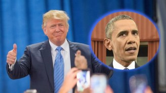 Donald Trump Live-Tweeted His Disapproval Of President Obama's Terrorism Speech