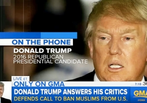 An Unhinged Donald Trump Says That Hitler Comparisons Don't Faze Him On 'Good Morning America'