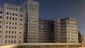 What Is This Creepy Light Coming From An Old Abandoned New Orleans Hospital?