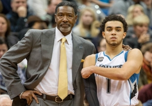 Basketball, Neat: Patty Mills And The Spurs Baptize 'Wolves Rookie Tyus Jones