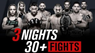 UFC 194 Live Discussion: Three Days Of Fightmas