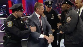 Wrestling Fans Actually Called The Cops When Vince McMahon Got Arrested On Raw