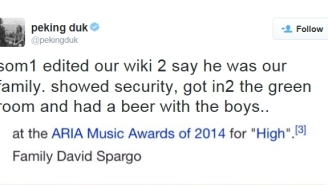 This Fan Ingeniously Used A Band's Wikipedia Page To Get Into Their VIP Area