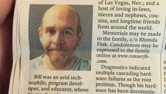 This Computer Programmer's Clever Obituary Is A Perfect, Poignant Send-Off