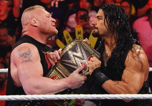 Roman Reigns Has 'Legitimate Beef' With Brock Lesnar Being A Part-Timer