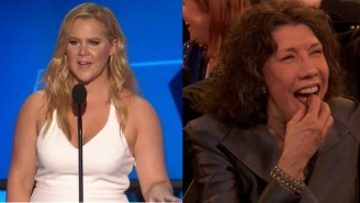 Amy Schumer Avoids The Censors With This Raunchy Joke About Lily Tomlin