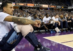 Matt Barnes Doesn't Think He's Getting His Money Back From The Derek Fisher Suspension