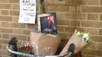 'Harry Potter' Fans Are Paying Tribute To Alan Rickman At Platform 9 3/4