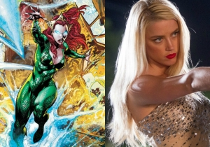 'Aquaman' may have found its leading lady in 'Magic Mike XXL's' Amber Heard