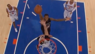 Kristaps Porzingis Just Wasn't Ready For This Thunderous Poster Dunk By Archie Goodwin
