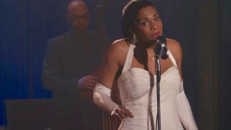 Finally, here's Audra McDonald slaying as Billie Holiday on HBO