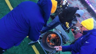 The Extreme Cold Is Wreaking Havoc At The Vikings-Seahawks Playoff Game