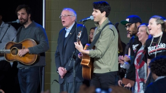 Watch Bernie Sanders Join With Vampire Weekend To Sing 'This Land Is Your Land'