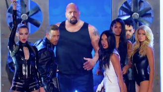 WWE's Big Show Joined Olivia Munn To Perform 'Bad Blood' And Fight Lady Assassins On 'Lip Sync Battle'
