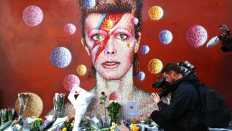 Did David Bowie's Daughter Spread Some Of His Ashes At Burning Man?