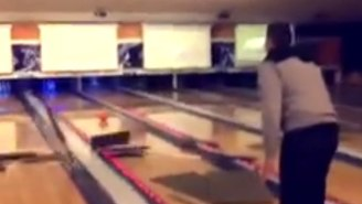 This Man's Bowling Ball Skills May Remind You Of A Wrecking Ball Instead