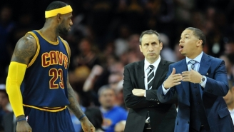 Reports Differ On LeBron James' Involvement In The Cavaliers' Coaching Change