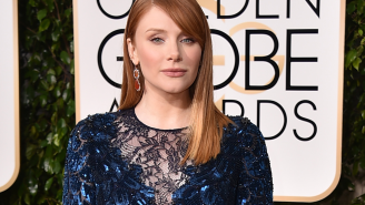 Bryce Dallas Howard's Golden Globes happy dance is pretty adorable