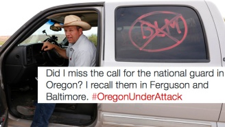 The #OregonUnderAttack Hashtag Perfectly Summarizes The Confusion With The Armed Militia Protest
