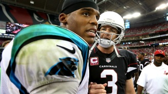 Cam Newton And Carson Palmer Will Make NFL History When They Square Off In The NFC Championship