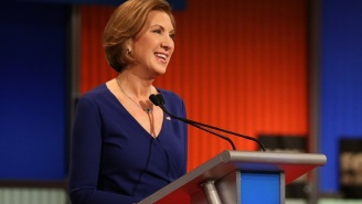Carly Fiorina Hauled A Bunch Of Children Into An Anti-Abortion Rally