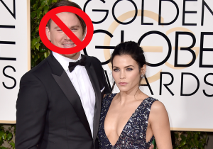 What on Earth is going on with Channing Tatum's hair at the Golden Globes?
