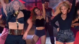 Channing Tatum And Beyoncé's First Meeting? Their 'Lip Sync Battle' Duet.