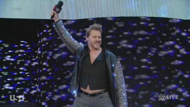 Chris Jericho Raw return