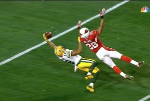 This Catch From Randall Cobb Didn't Count, But It Was A Sight To Behold