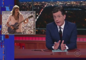The Story Of How Glenn Frey Helped Stephen Colbert Out With His First Dance