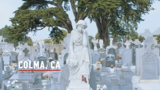 Travel To A Real Life 'City Of The Dead' Where Graves Outnumber Living People