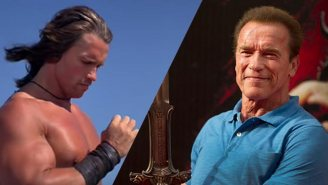Arnold Schwarzenegger Offers Bloody Details On The Now Director-Less 'Conan The Conqueror,'