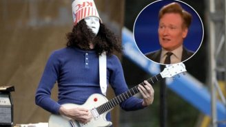 'Buckethead' Stopped By 'Conan' To Address The Impending Guns N' Roses Reunion