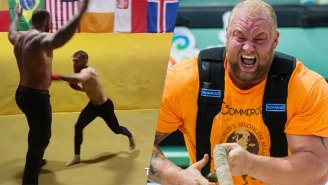 The Mountain From 'Game Of Thrones' Says He Was Taking It Easy On Conor McGregor