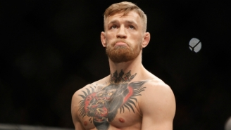 Conor McGregor Apologizes (For Real) After Jumping Into The Cage During A Teammate's Fight
