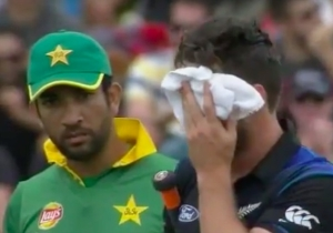 The Result Of Taking A Cricket Ball Square To The Face Is As Ugly As You'd Imagine