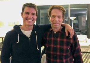 Jerry Bruckheimer and Tom Cruise still teasing 'Top Gun 2,' now with photos
