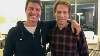 Jerry Bruckheimer and Tom Cruise still teasing 'Top Gun 2,' now with photos