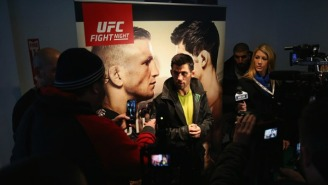 UFC Fighter Dominick Cruz Duped Everyone With The Ol' Willy Wonka Routine