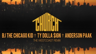"BJ The Chicago Kid Releases The Westcoast Remix For ""Church"""