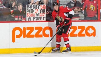 These Two Young Hockey Fans Got A Puppy Thanks To A Goal From Bobby Ryan