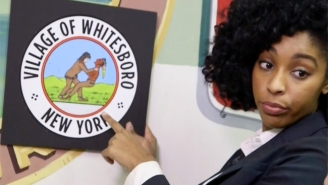 'The Daily Show' Addresses Its Role In The Controversy Over Whitesboro, New York's Official Seal