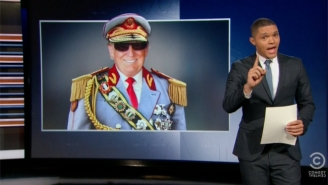 'The Daily Show' Has The Perfect Comparison For Donald Trump Backing Out Of The GOP Debate