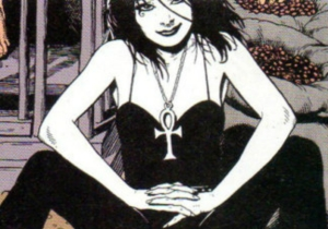 Felicity may not be Oracle, but is she Death, from the Sandman comics?