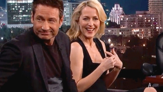 You have to read the note Gillian Anderson sent to David Duchovny's Walk of Fame ceremony