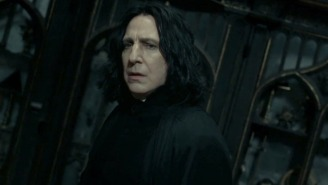 J.K. Rowling Shares The One Word Clue That She Gave Alan Rickman About Snape's Fate